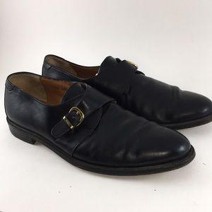 Salvatore Ferragamo Italian Leather Buckle Shoes